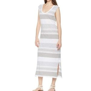 ♥️Scoop Neck Sleeveless Striped Maxi Dress